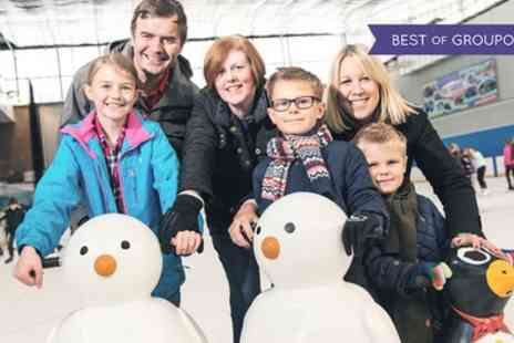 Billingham Forum Ice Arena - Ice Skating with Skate Hire for Two or Four - Save 48%