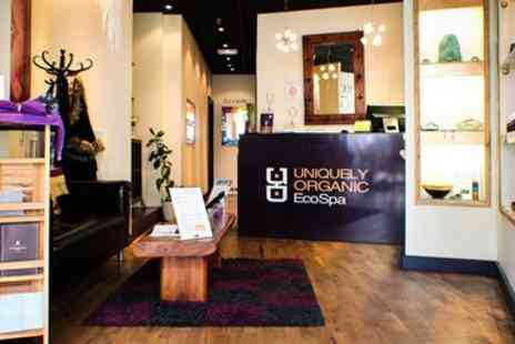 Uniquely Organic EcoSpa - Massage & Facial at Member Favourite Spa - Save 54%
