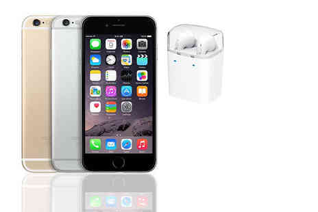 Nex Buy - 16GB, 64GB, or 128GB Apple iPhone 6 bundle choose from three colours - Save 51%