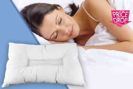 Home Furnishings Company - Orthopaedic anti snore pillow - Save 80%