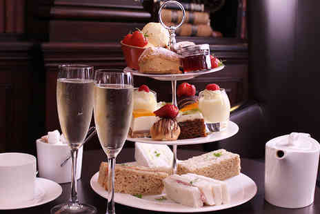 DoubleTree by Hilton - Afternoon tea for two with a glass of Prosecco each - Save 45%