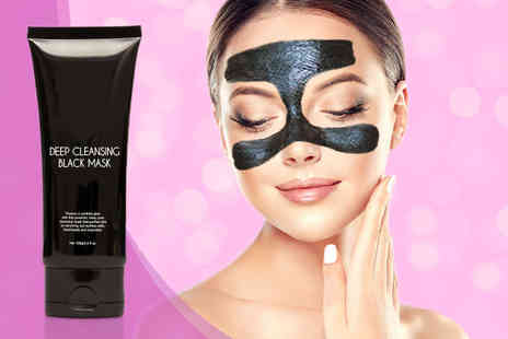 Ckent - 100ml tube of a charcoal peel off face mask - Save 69%
