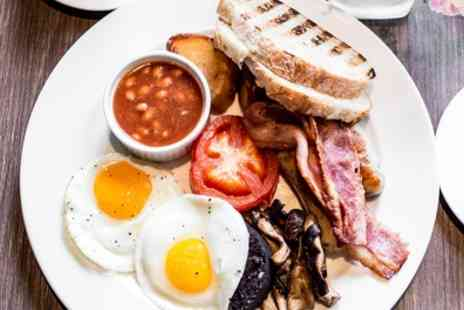 AM PM Bohemian Restaurant - Large Breakfast with Tea or Coffee for Two or Four - Save 35%