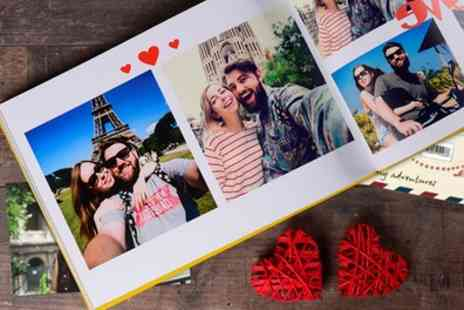 Ecolorland - One or Two 100 or 140 Page A4 Personalised Hardcover Photobook - Save 84%