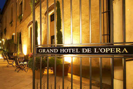 Grand Hotel de l Opera - Four Star Cosy Boutique Hotel Stay For Two in a Former Convent - Save 42%