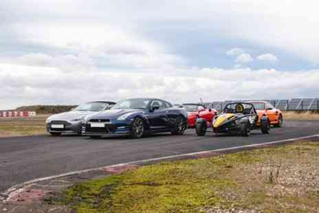 Top UK Race Tracks - Five Supercar Blast - Save 47%