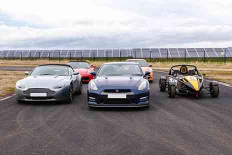 Top UK Race Tracks - Five Supercar Thrill - Save 45%