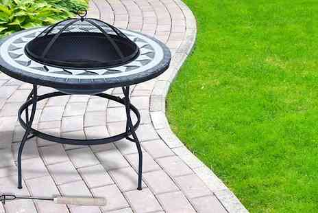 Funky Buys - Deluxe Mosaic Fire Pit - Save 61%