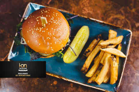 Smoak BBQ - Burger, hot dog or sandwich and fries meal for two - Save 48%