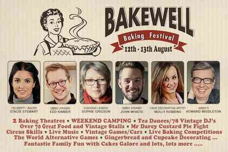 Bakewell Baking Festival - Family day ticket to Bakewell Baking Festival - Save 25%