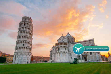 Weekender Breaks - Three or four night Pisa and Florence break with flights and train transfer - Save 22%