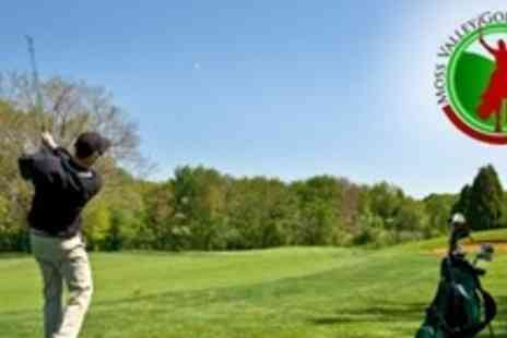 Moss Valley Golf Club - Golf 18 Holes For Four With Bacon Sandwich and Coffee Each - Save 66%