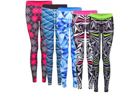 Groupon Goods Global GmbH - Womens Pro Fit Sports Leggings - Save 45%