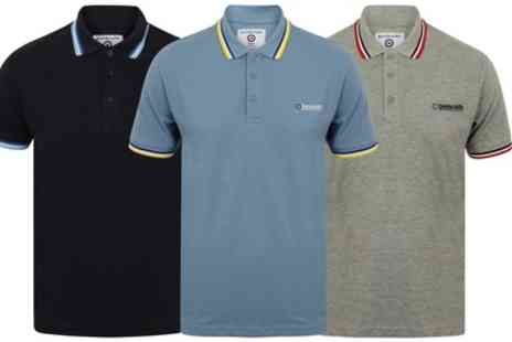 Groupon Goods Global GmbH - Lambretta Triple Tipped Polo Shirt - Save 36%