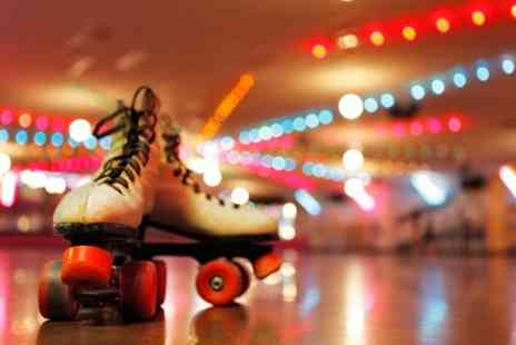 GYSO Roller Disco - Roller Disco Entry for Two Adults or Two Adults and Two Children - Save 50%