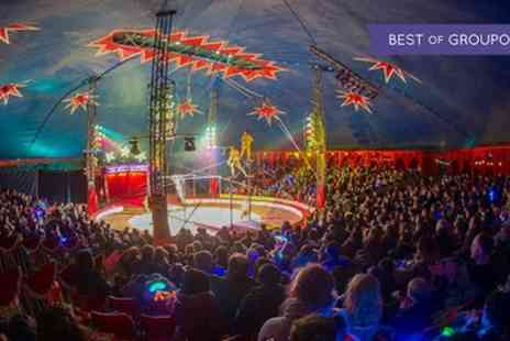 Zippos Circus - Ticket to Zippos Circus on 14 June to  2 July - Save 50%