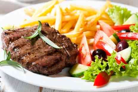 The Telford Arms - Sirloin Steak Meal for Two or Four - Save 58%