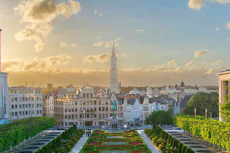 NH Brussels City Centre - Four Star Fantastic Central Location Stay For Two near Avenue Louise - Save 78%