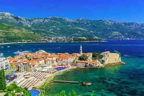 Weekender Breaks - Three, Five or Seven night all inclusive 4 Star Budva, Montenegro stay with flights - Save 25%
