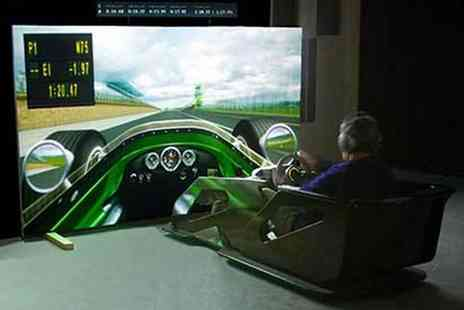 Activity Superstore - F1 Race Car simulator session in a choice of two locations - Save 0%