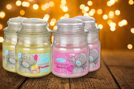 GB Gifts - Set of 4 Me to You scented candles - Save 56%