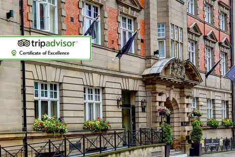The Richmond - One or Two night 4 Star city break for two plus a bottle of Prosecco, breakfast and late check out, add dinner  - Save 56%
