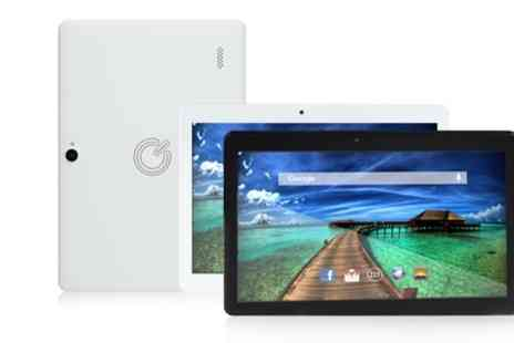 Groupon Goods Global GmbH - Quantum 10.1 Inch  IPS HD Tablet With Free Delivery - Save 0%