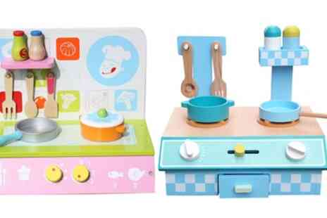 Groupon Goods Global GmbH - Liberty House Toys Kids Wooden Kitchen Table Top - Save 0%