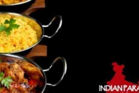 Indian Paradise - Two Course Indian Meal For Four - Save 67%