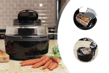 Qualtex UK - Extra large 6.8 litre halogen air fryer - Save 61%