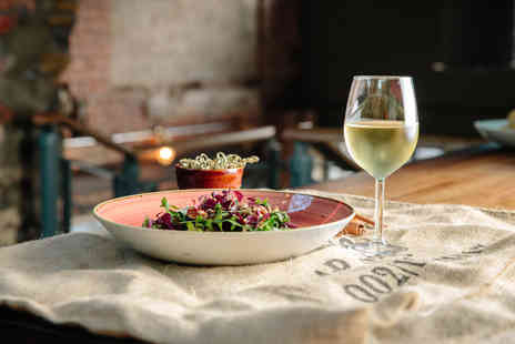 Brew Haus - Two course dining for two with a cocktail, glass of wine or beer each - Save 52%