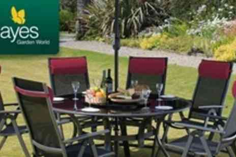 Hayes Garden World - Six Seater Garden Furniture Sets - Save 50%