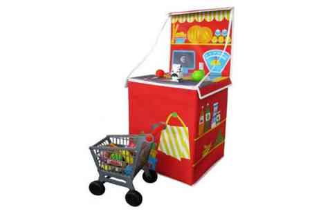 Groupon Goods Global GmbH - PreciousLittleOne Pop Up Playworld and Toy Box - Save 63%
