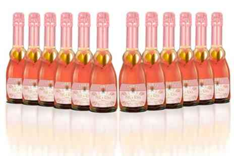 Great wine Direct - 12 375ml Bottles of Torti Perla Rosa Sweet Sparkling Wine - Save 50%