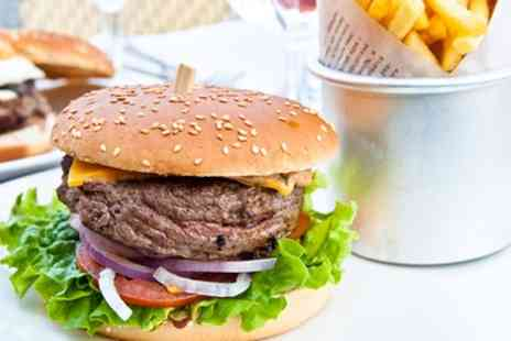 Ad Hoc - Burger and Beer or Wine for Two, Four or Six - Save 51%