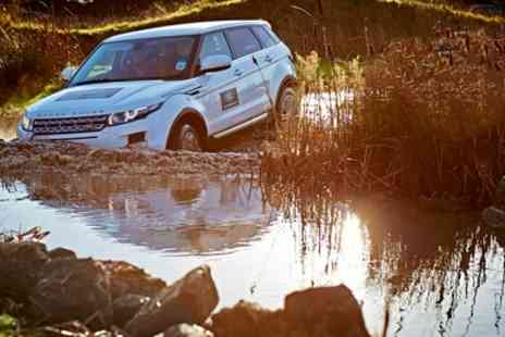 Land Rover Experience - Sole Occupany Half Day Off Road Driving Experience for One - Save 42%