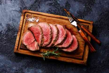 The Big Bulls Head - 8oz or 16oz Steak Meal with a Glass of Prosecco for Up to Four - Save 29%