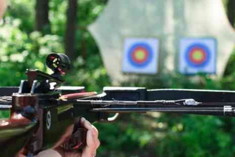 GTS Adventure - One Hour Crossbow Target Practice for One or Two - Save 50%