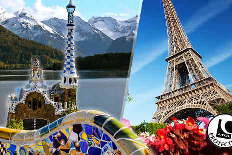 Tour Center - Five Night 3 City Break With Hotels, Breakfast, Flights - Save 30%