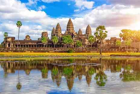 Bargain Late Holidays - Seven night 4 Star Cambodia Adventure with breakfast, flights and optional tours - Save 43%