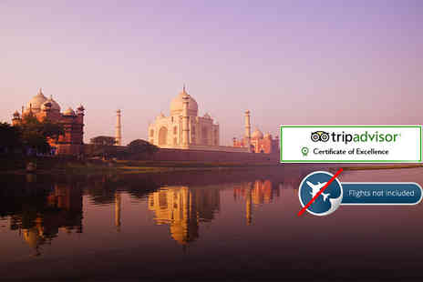 Swastik India Journeys - 11 Day Heritage Tour of India with Taj Mahal, daily breakfast and selected excursions - Save 34%