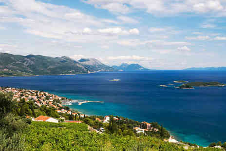 Weekender Breaks - Three or Five night all inclusive scenic Croatia stay with flights - Save 26%