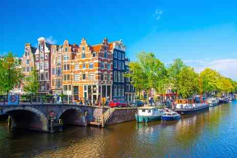 Crystal Travel - Two or three night Amsterdam stay with breakfast and flights - Save 37%