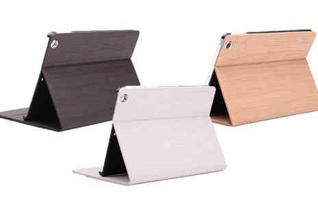 Groupon Goods Global GmbH - Luxury Wood Grain Like iPad Case - Save 68%