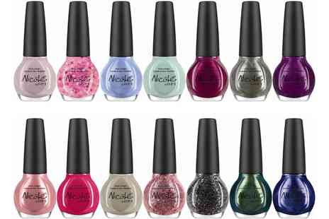 Groupon Goods Global GmbH - Nicole By OPI Six or 10 Pack Nail Polishes - Save 79%