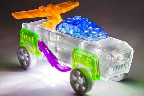 Groupon Goods Global GmbH - One or Two Laser Pegs Light Up Zippy Do Cars - Save 46%