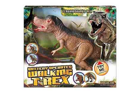 Groupon Goods Global GmbH - Walking Tyrannosaurus Rex with Sound - Save 0%