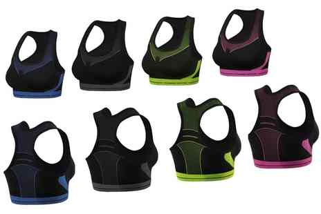 Groupon Goods Global GmbH - Two or Four FreeNord Seamless Sports Bras - Save 67%