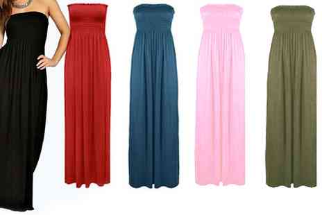 Groupon Goods Global GmbH - Bandeau Maxi Dress Available up to Size 20 - Save 0%