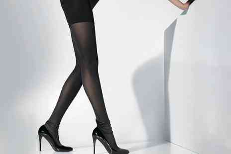 Groupon Goods Global GmbH - One or Two Pairs of Magic Ladder Resistant Tights - Save 0%